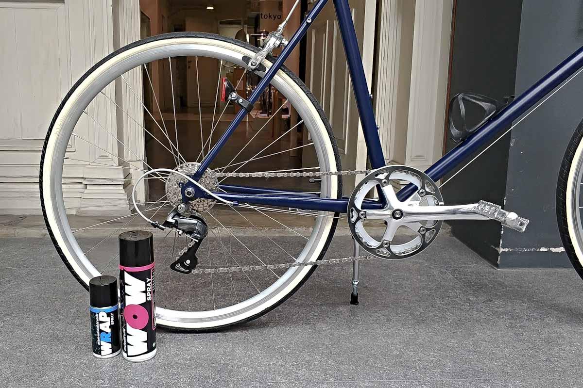 อุปกรณ์ล้างจักรยาน ไบค์สเปรย์ ไบค์คลีนเนอร์ น้ำมันโซ่จักรยาน