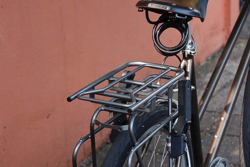 จักรยานติด rack และ adaptor สำหรับ Yepp