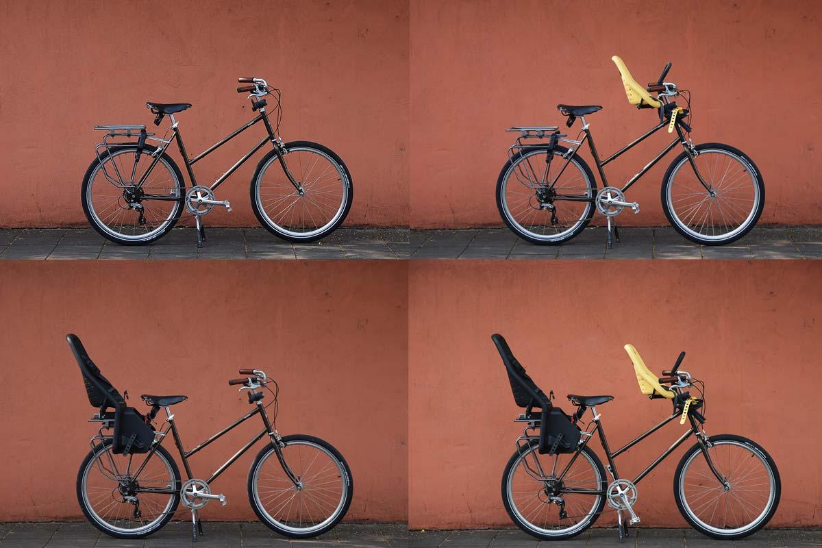 จักรยานติด ที่นั่งเด็กติดจักรยานแบบต่างๆ