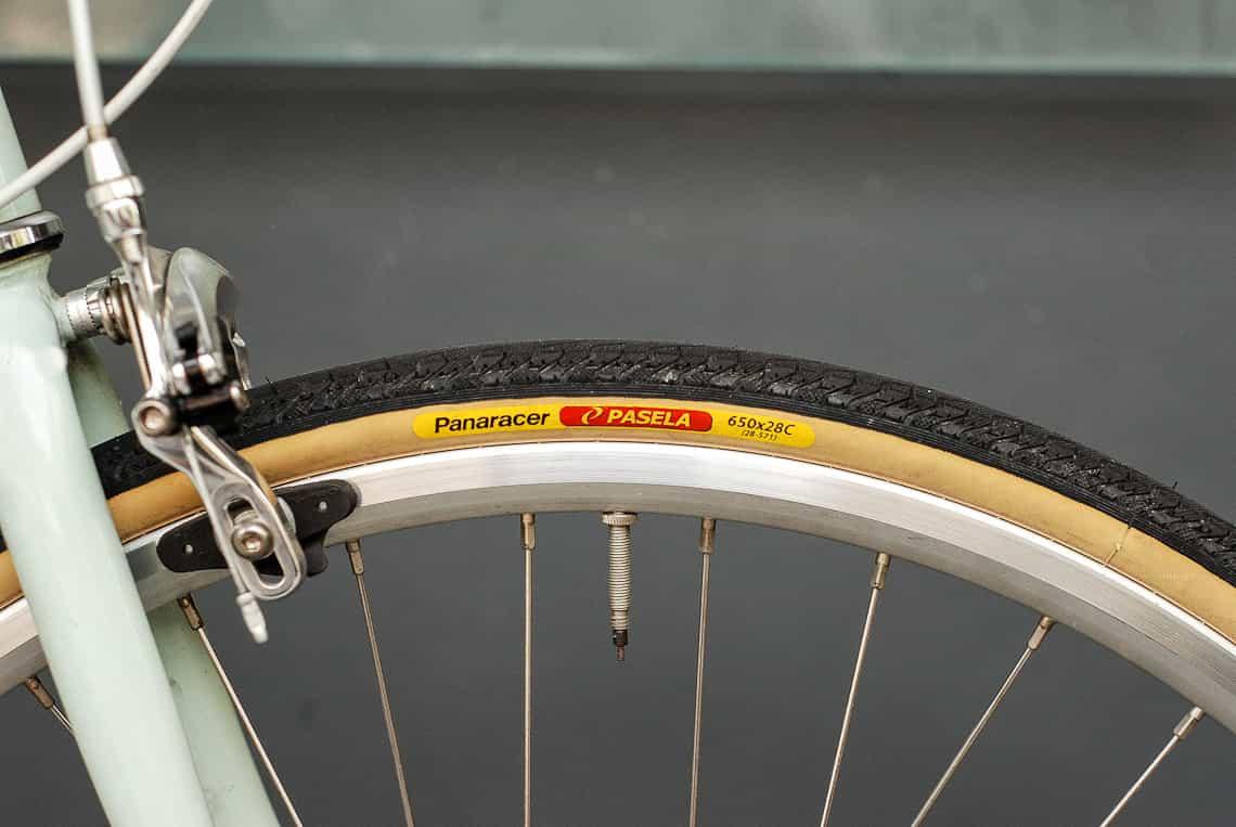 ยางจักรยานขนาด 650cx28 สำหรับ tokyobike CS ที่นุ่นขึ้น