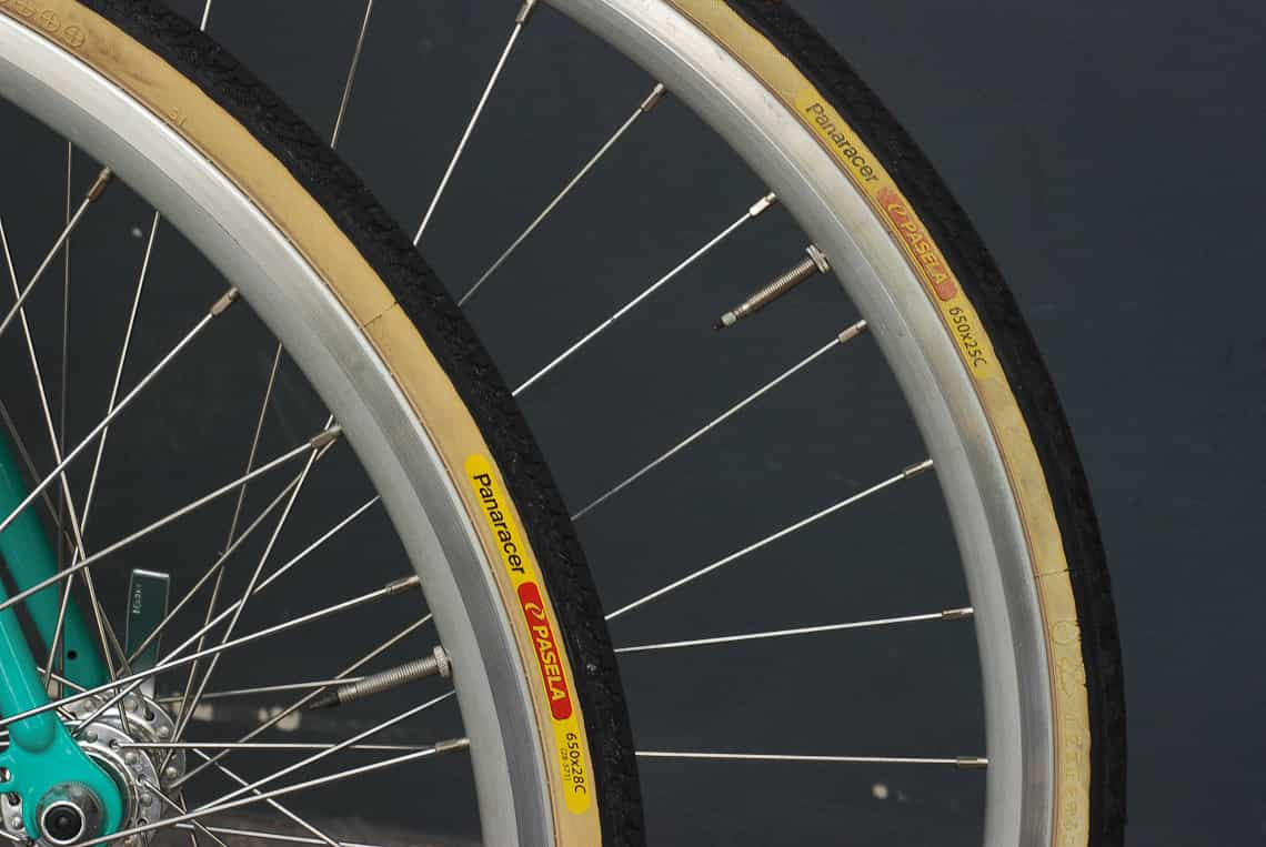 ความสูงของยางจักรยานจะเพิ่มขึ้นเล็กน้อย