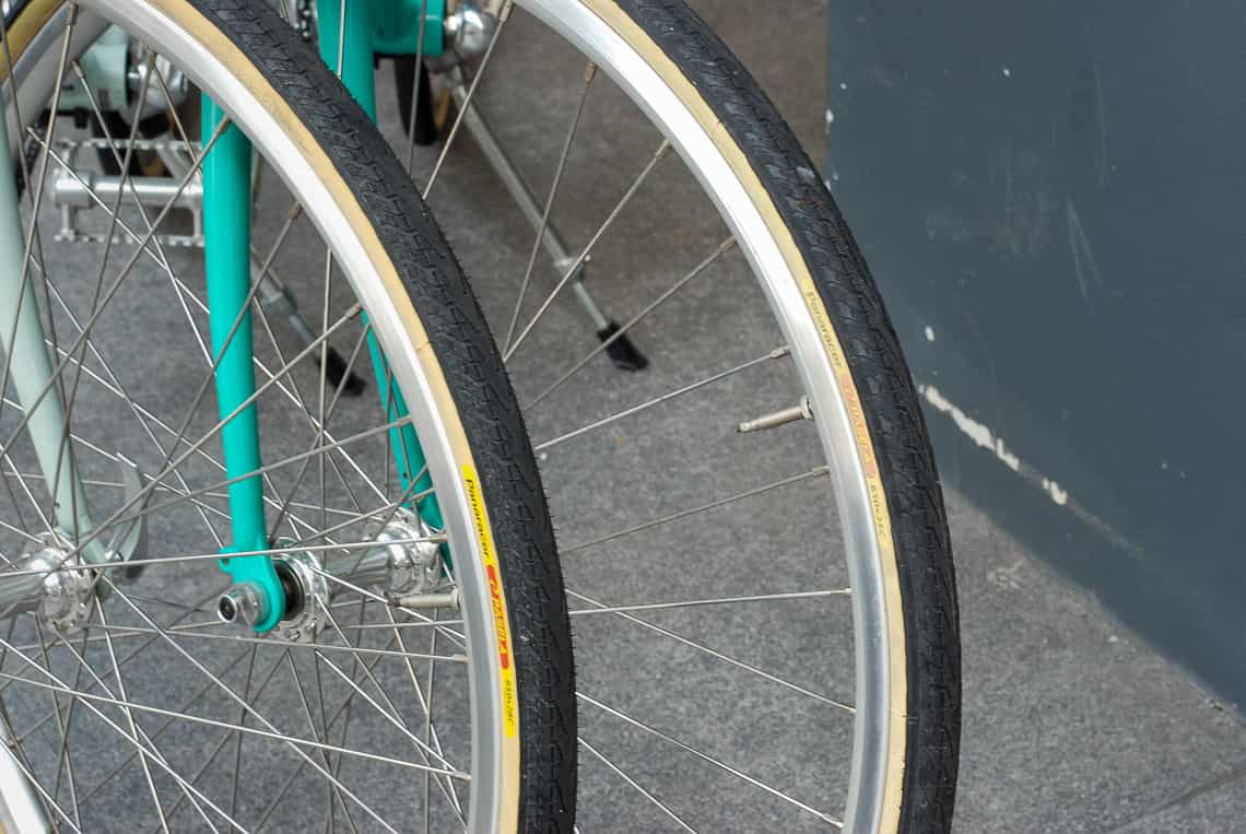 เปรียบเทียบยางจักรยาน โตเกียวไบค์ ขนาด 650c หน้า 25 และ 28 ในตัวรถ