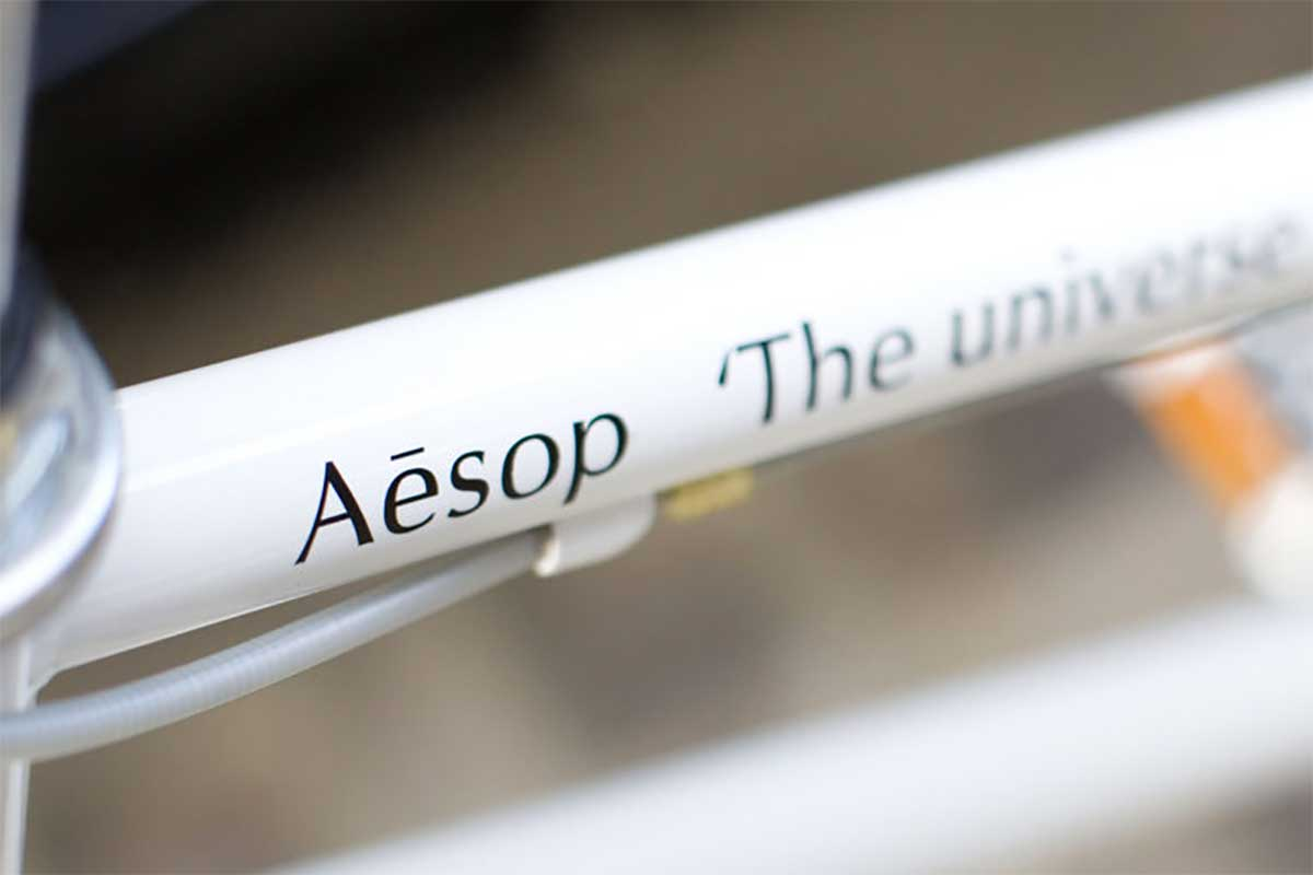 Aesop x tokyobike special decal
