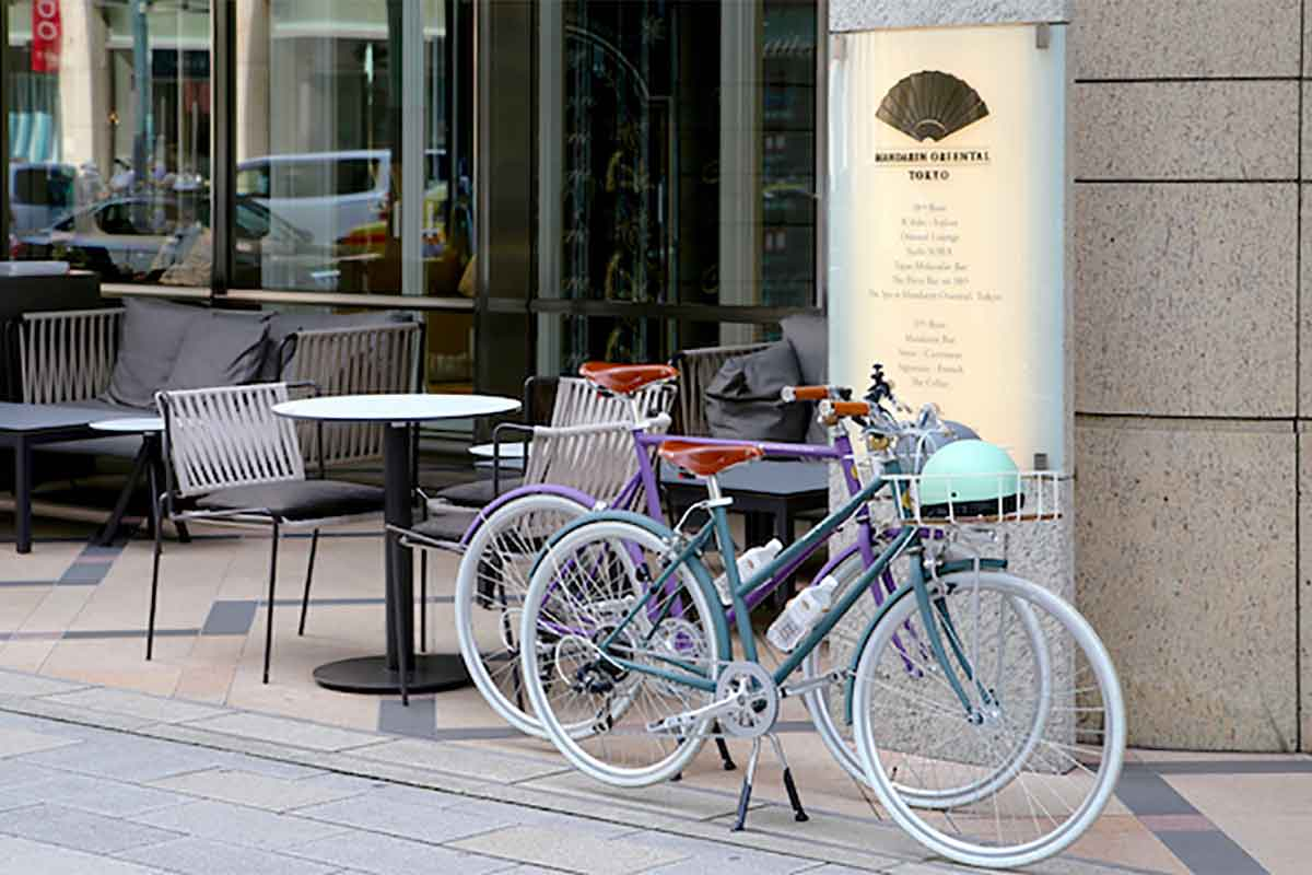 tokyobike x Mandarin Oriental rental bike