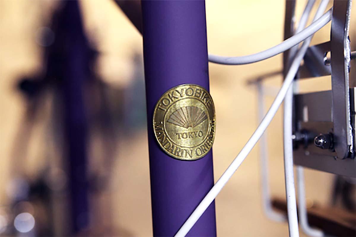 tokyobike x Mandarin Oriental bike logo