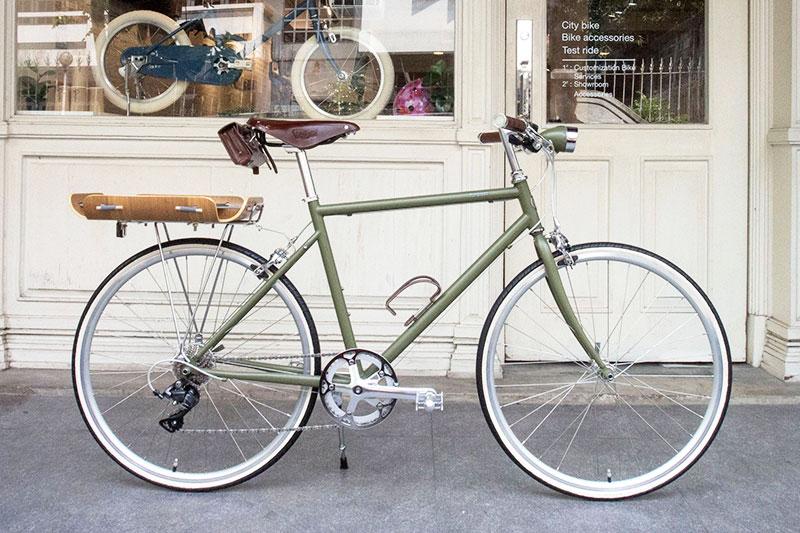 จักรยาน รุ่นพิเศษ สีพิเศษ ทำสี ติด อุปกรณ์จักรยาน โตเกียวไบค์