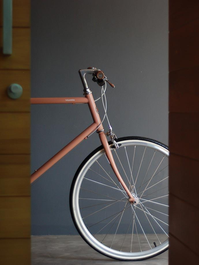 tokyobike plus edition - new cs26 beige red