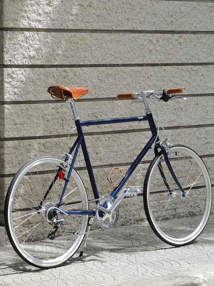 จักรยานแต่งพิเศษ tokyobike 26 พร้อมอุปกรณ์ชุดเบาะ Brooks รุ่นพิเศษ