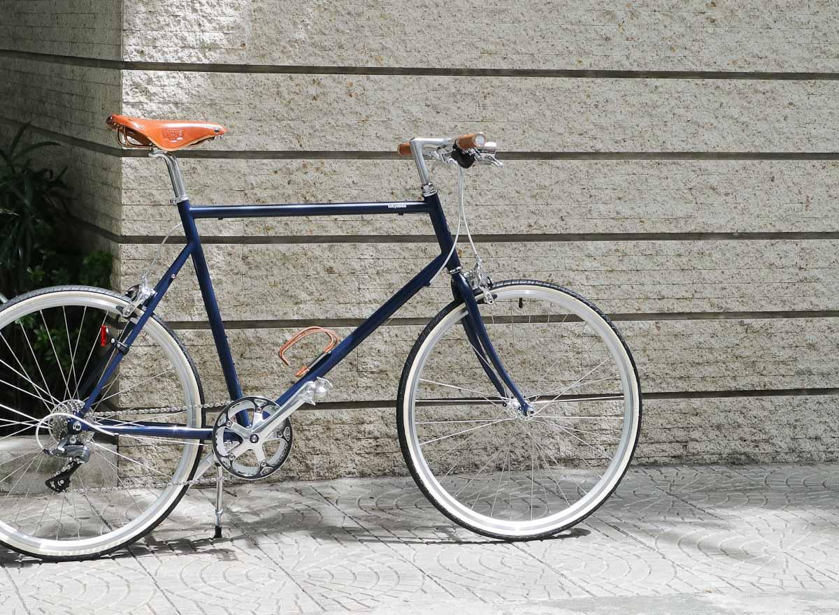 tokyobike plus #19 tokyobike 26 side brooks saddle and grips