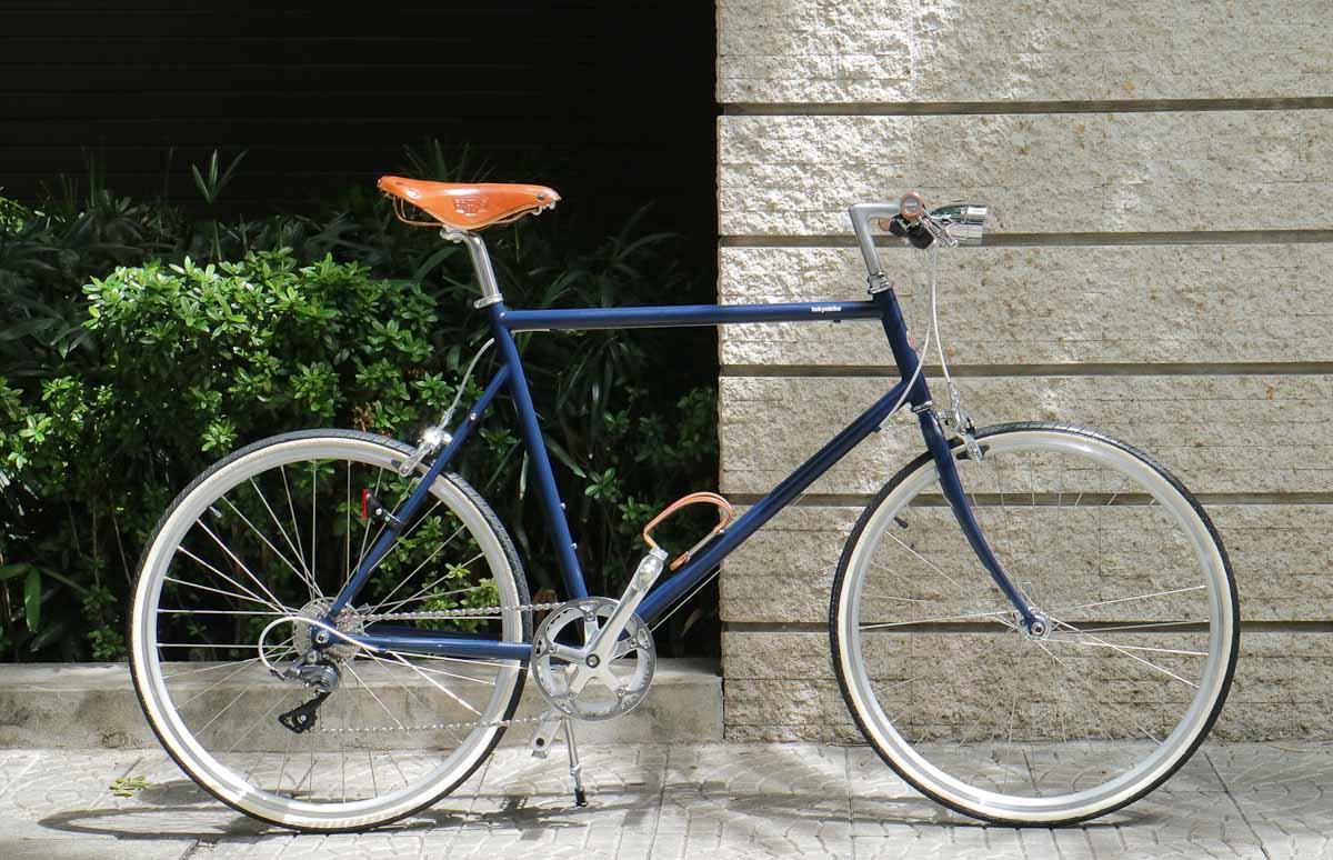 tokyobike plus #19 tokyobike 26 side brooks set and vintage light
