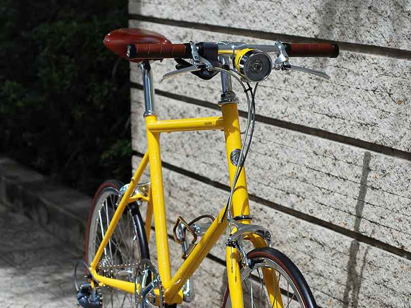 tokyobike 20 mini velo in special yellow with full options