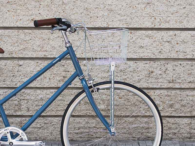 tokyobike plus bisou with front basket อุปกรณ์จักรยาน ตะกร้าหน้า