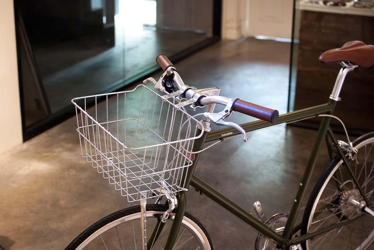 ตะกร้าจักรยาน WALD รุ่น 1521 ติดบนจักรยาน โตเกียวไบค์ 26 - bicycle basket WALD 1521 front mount in tokyobike 26