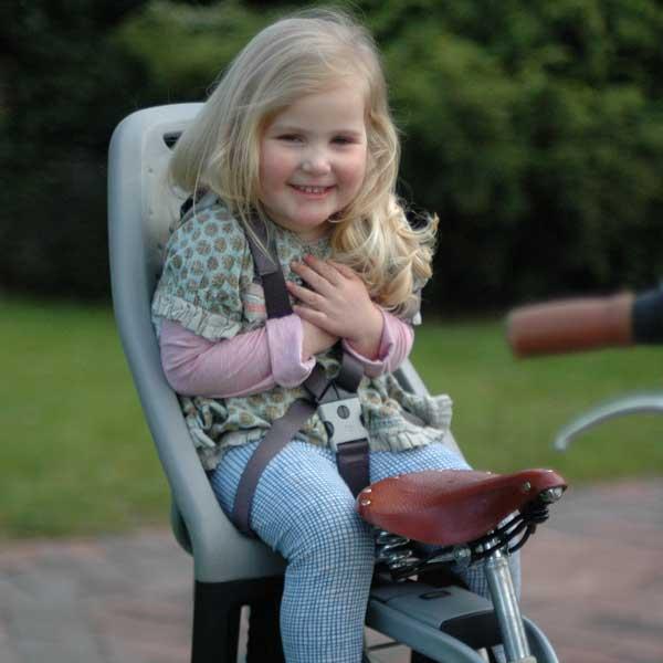 ที่นั่งเด็กติดจักรยาน Yepp Maxi - สำหรับเด็กน้ำหนัก 9 กิโล ถึง 22 กิโล