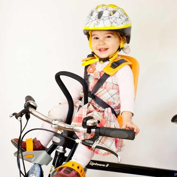 ที่นั่งเด็กติดจักรยาน Yepp สำหรับเด็กน้ำหนัก 9 กิโล ถึง 15 กิโล