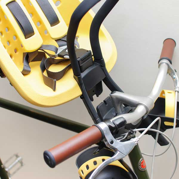 ที่นั่งเด็กติดจักรยาน Yepp ถอดง่าย ใส่ง่าย ระบบ quick release